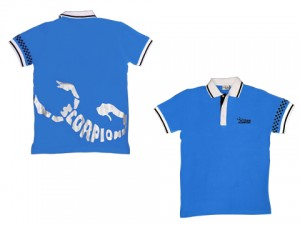 SC-PBLUE-XL Scorpion Polo Shirt (Blue-XL)