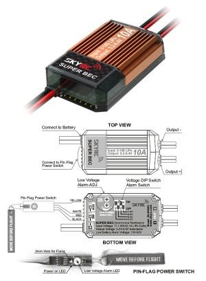 SK-600053 SKYRC 14S 10A BEC