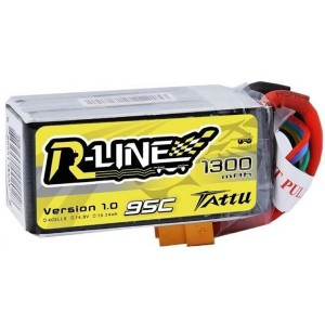 TA-RL-95C-1300-4S1P Tattu R-Line 1300mAh 95C 4S1P lipo battery pack