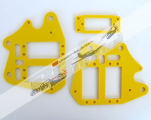 4018-1 Frames servo unit yellow (2 pieces)
