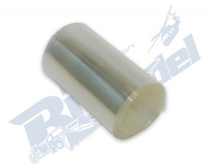1 metro termoretraibile trasparente larghezza 53mm ristretto 31mm CW135