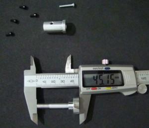 Motor shaft For 1400mm STUKA FMSMH306