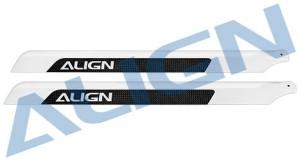 HD520B 520 Carbon Fiber Blades (OLD H55001T)