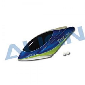 HC6505 T-Rex 600 Canopy Highlight Blue HC6505