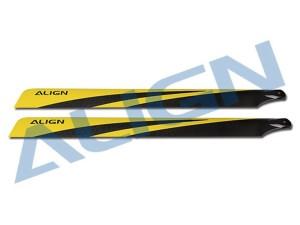 T-rex 700N Carbon Fiber Blades HD700C