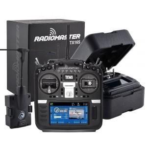 RadioMaster TX16S TBS Crossfire Starter Set con 1x MicroTX V2 e 3x ricevitori Nano RX SE