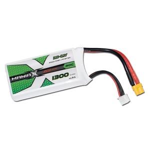 ManiaX Power LiPo 3S 1300mAh 11.1V serie ECO 30C