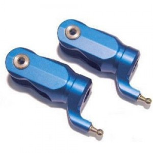 SSH-08 One Piece Main Blade Grips (Pair) - BLUE