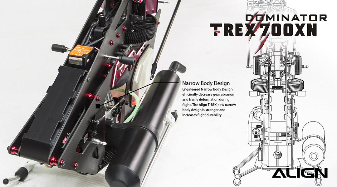 T-REX 700 Nitro DFC Combo
